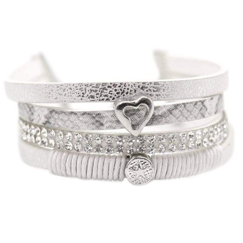 Wicked Wonders VIP Bling Bracelet My Oh My White Bracelet Affordable Bling_Bling Fashion Paparazzi
