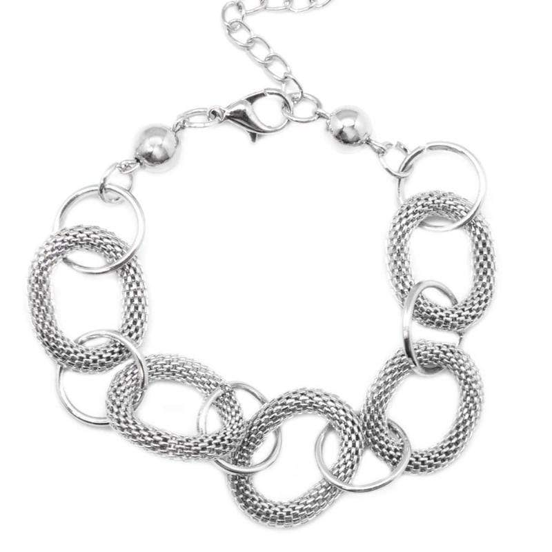 Wicked Wonders VIP Bling Bracelet Ring in the New Silver Bracelet Affordable Bling_Bling Fashion Paparazzi