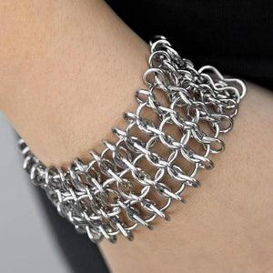 Wicked Wonders VIP Bling Bracelet Tech Savvy Silver Bracelet Affordable Bling_Bling Fashion Paparazzi