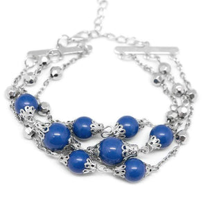 Wicked Wonders VIP Bling Bracelet The Good Ol' Fashioned Blue Bracelet Affordable Bling_Bling Fashion Paparazzi