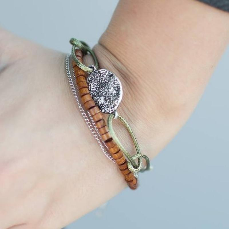 Wicked Wonders VIP Bling Bracelet The Woodlanders Green Bracelet Affordable Bling_Bling Fashion Paparazzi