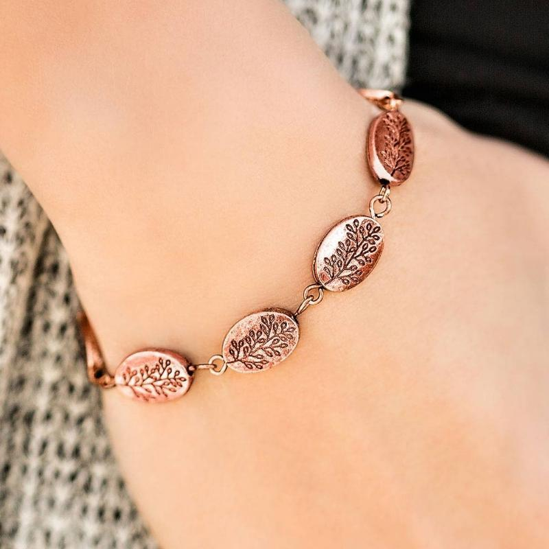 Wicked Wonders VIP Bling Bracelet Timber Timbre Copper Bracelet Affordable Bling_Bling Fashion Paparazzi