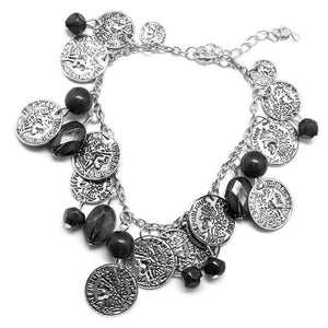 Wicked Wonders VIP Bling Bracelet Two-Faced Black Bracelet Affordable Bling_Bling Fashion Paparazzi