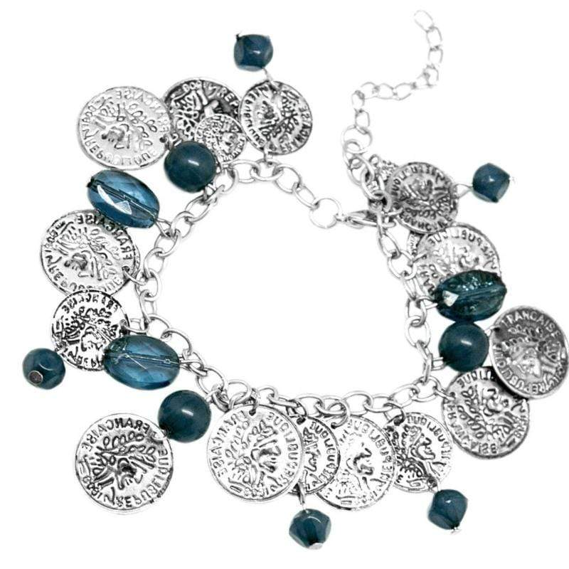 Wicked Wonders VIP Bling Bracelet Two-Faced Blue Bracelet Affordable Bling_Bling Fashion Paparazzi