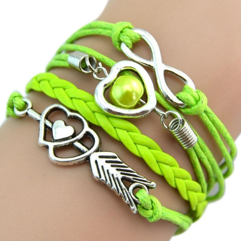 Wicked Wonders VIP Bling Bracelet Valentine Secret Green Bracelet Affordable Bling_Bling Fashion Paparazzi