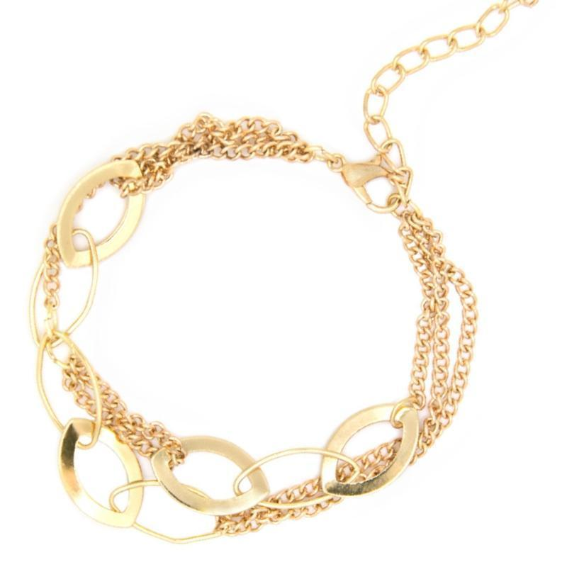 Wicked Wonders VIP Bling Bracelet Without a Trace Gold Bracelet Affordable Bling_Bling Fashion Paparazzi