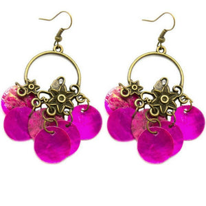 Wicked Wonders VIP Bling Earrings Aquamarine Dream Pink Earring Affordable Bling_Bling Fashion Paparazzi