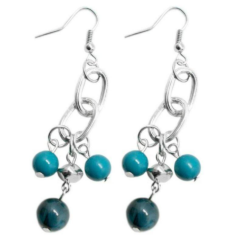 Wicked Wonders VIP Bling Earrings Best Day Ever Blue Earrings Affordable Bling_Bling Fashion Paparazzi