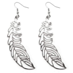 Wicked Wonders VIP Bling Earrings Birds of a Feather Silver Earrings Affordable Bling_Bling Fashion Paparazzi