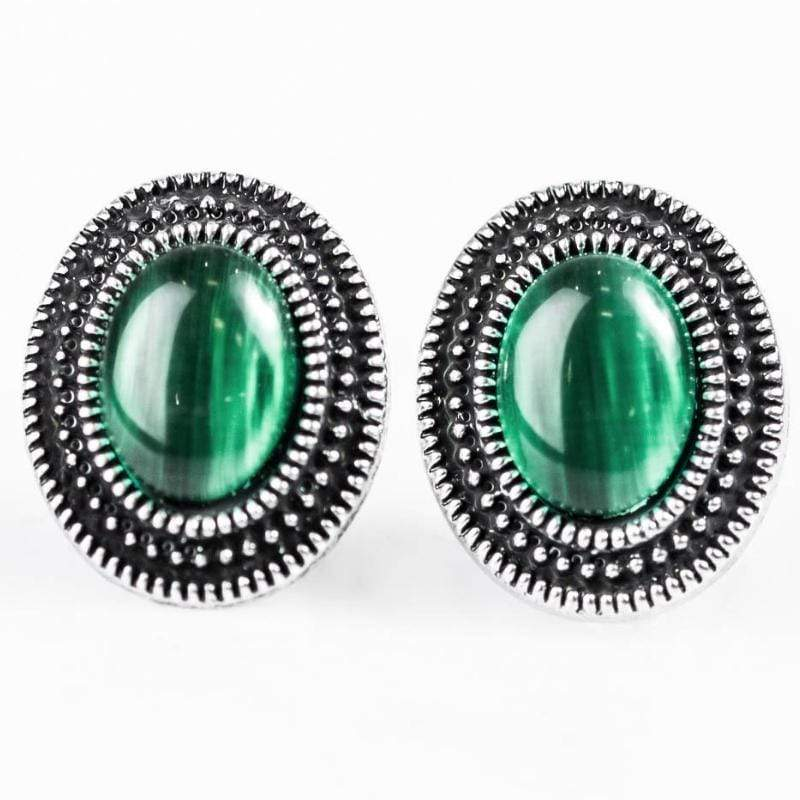 Wicked Wonders VIP Bling Earrings Carefree Cavalier Green Dainty Post Earrings Affordable Bling_Bling Fashion Paparazzi