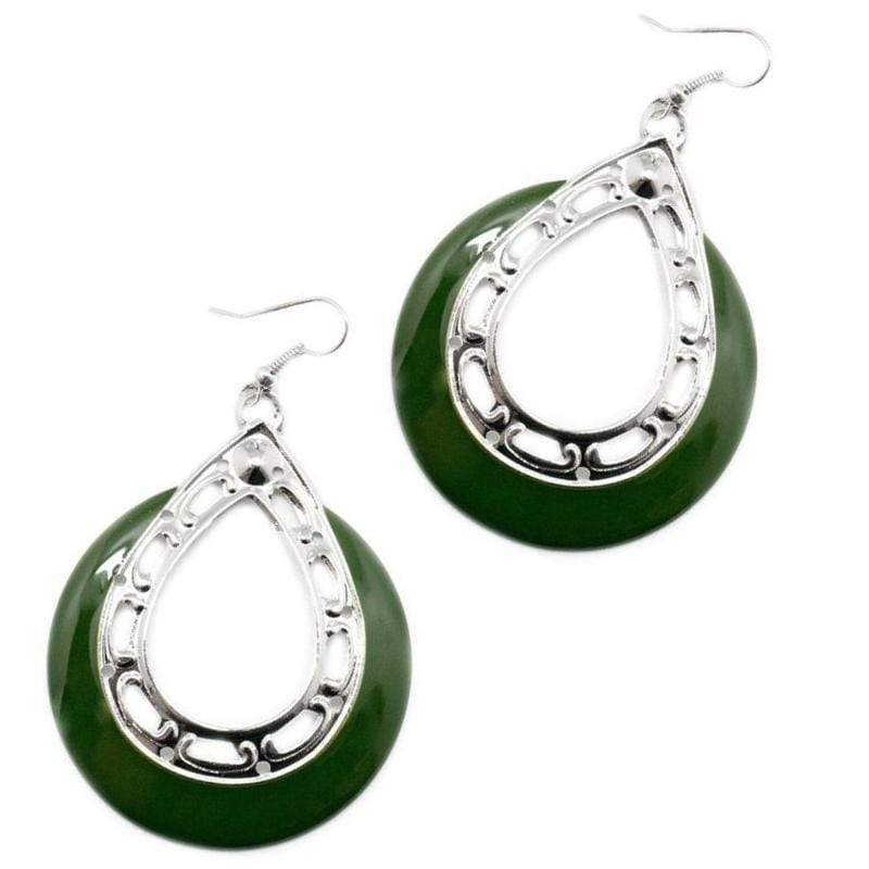 Wicked Wonders VIP Bling Earrings Cut It Out Green Earrings Affordable Bling_Bling Fashion Paparazzi