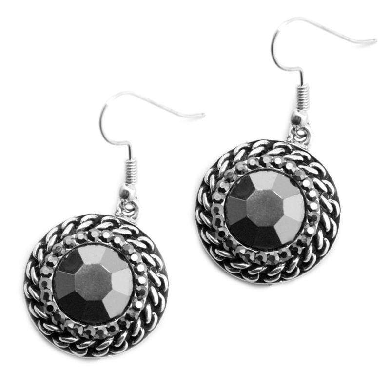 Wicked Wonders VIP Bling Earrings Free Reign Silver Earring Affordable Bling_Bling Fashion Paparazzi