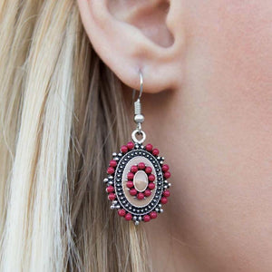 Wicked Wonders VIP Bling Earrings Garden Gate Glam Multi-Pink Earrings Affordable Bling_Bling Fashion Paparazzi