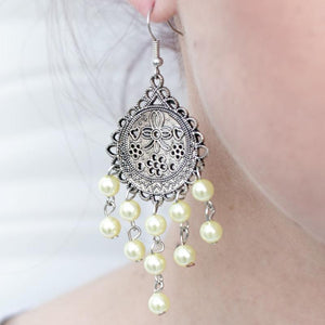 Wicked Wonders VIP Bling Earrings Girl Meets World Yellow Earring Affordable Bling_Bling Fashion Paparazzi