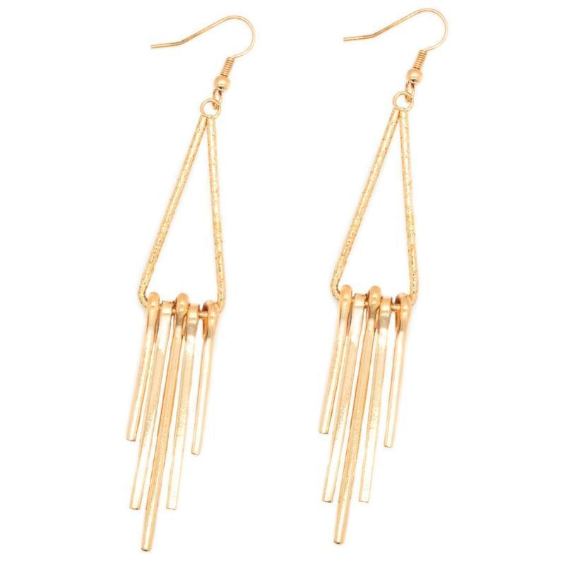 Wicked Wonders VIP Bling Earrings Glimmer of Hope Gold Earring Affordable Bling_Bling Fashion Paparazzi