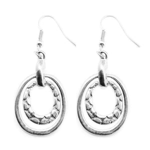 Wicked Wonders VIP Bling Earrings Hog Wild Silver Earring Affordable Bling_Bling Fashion Paparazzi