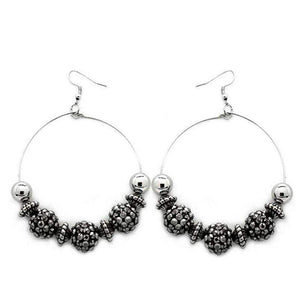 Wicked Wonders VIP Bling Earrings I Can Take a Compliment Black Earring Affordable Bling_Bling Fashion Paparazzi