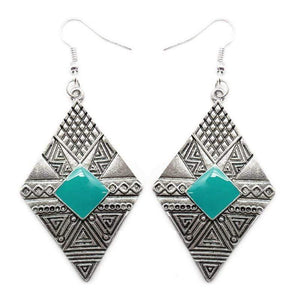 Wicked Wonders VIP Bling Earrings Jungle Cruz Blue Earrings Affordable Bling_Bling Fashion Paparazzi