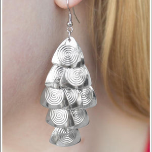 Wicked Wonders VIP Bling Earrings Let Me Be Your Muse Silver Earrings Affordable Bling_Bling Fashion Paparazzi