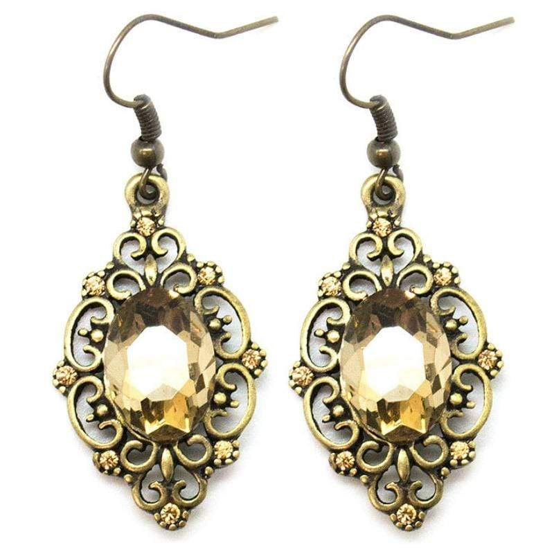 Wicked Wonders VIP Bling Earrings Made of Money Brass Earrings Affordable Bling_Bling Fashion Paparazzi