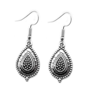 Wicked Wonders VIP Bling Earrings Natively Native Silver Earrings Affordable Bling_Bling Fashion Paparazzi