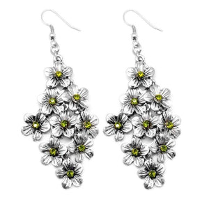 Wicked Wonders VIP Bling Earrings Ode to Spring Green Earrings Affordable Bling_Bling Fashion Paparazzi