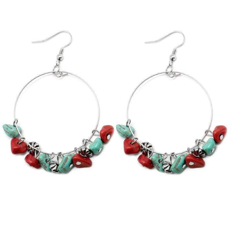 Wicked Wonders VIP Bling Earrings Pebble Beach Multi-Colored Earrings Affordable Bling_Bling Fashion Paparazzi