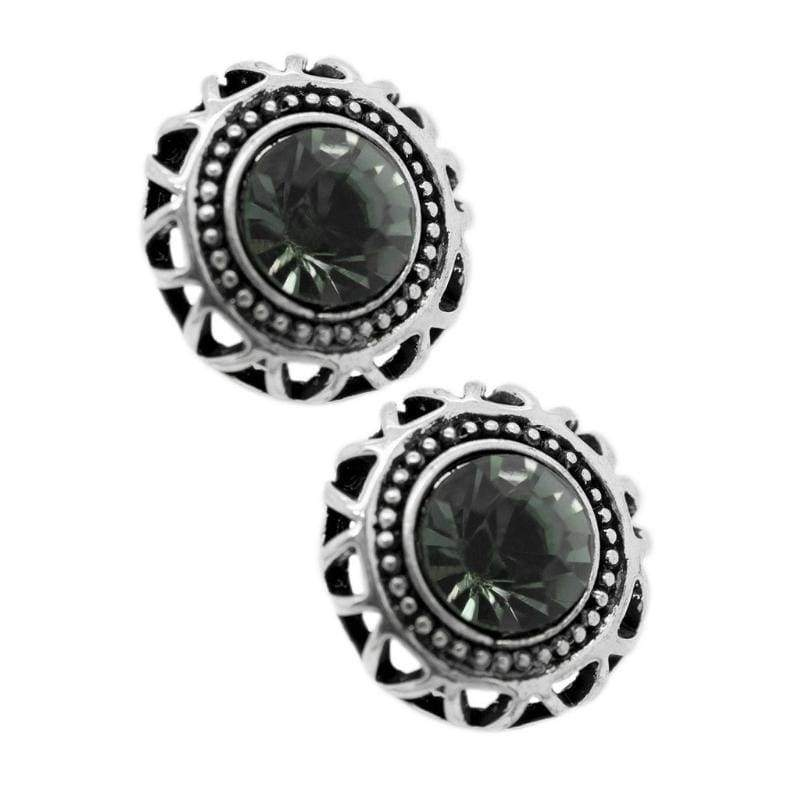 Wicked Wonders VIP Bling Earrings Single and Ready to Mingle Silver Post Earrings Affordable Bling_Bling Fashion Paparazzi