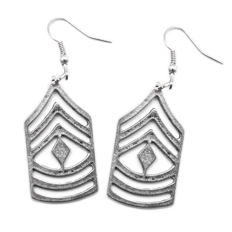 Wicked Wonders VIP Bling Earrings Sir, Yes Sir Silver Earrings Affordable Bling_Bling Fashion Paparazzi