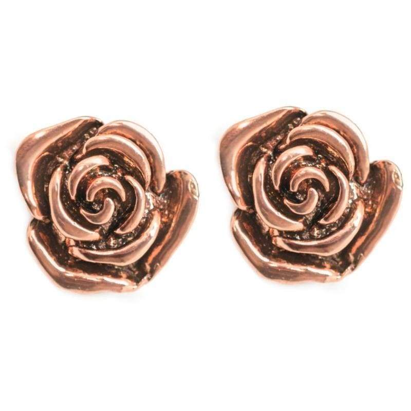 Wicked Wonders VIP Bling Earrings So BLOOMantic Copper Post Earrings Affordable Bling_Bling Fashion Paparazzi