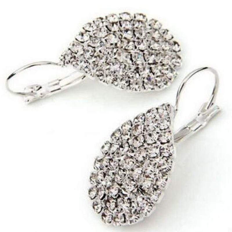 Wicked Wonders VIP Bling Earrings Sparkling Snow Drops Rhinestone Earrings Affordable Bling_Bling Fashion Paparazzi