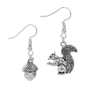 Wicked Wonders VIP Bling Earrings Squirrel-ing Around Silver Earrings Affordable Bling_Bling Fashion Paparazzi