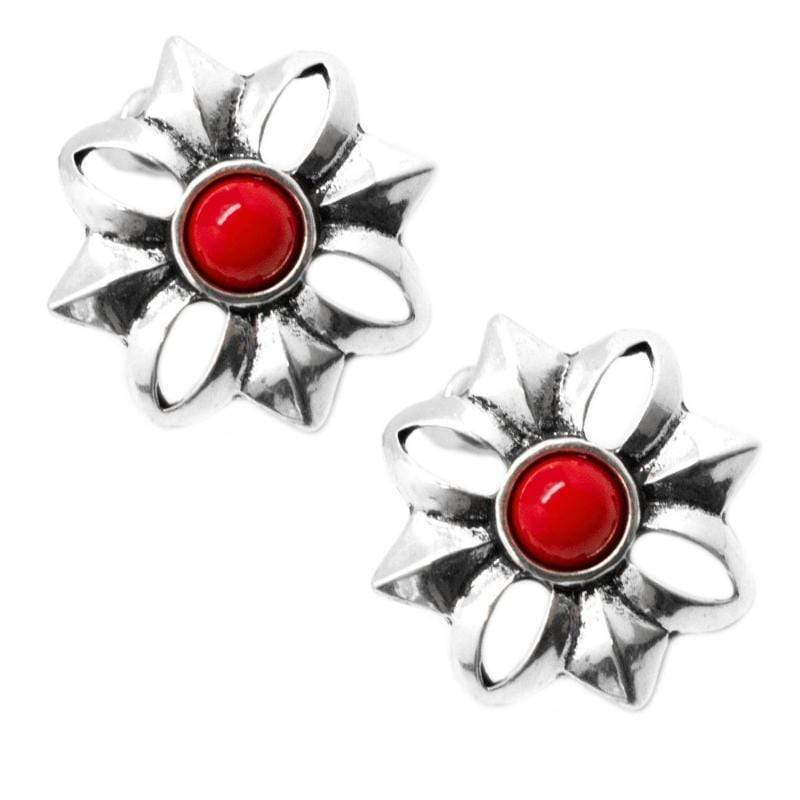 Wicked Wonders VIP Bling Earrings Take Your Time Red Post Earrings Affordable Bling_Bling Fashion Paparazzi
