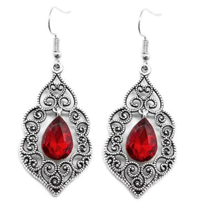 Wicked Wonders VIP Bling Earrings The Selection Red Earrings Affordable Bling_Bling Fashion Paparazzi