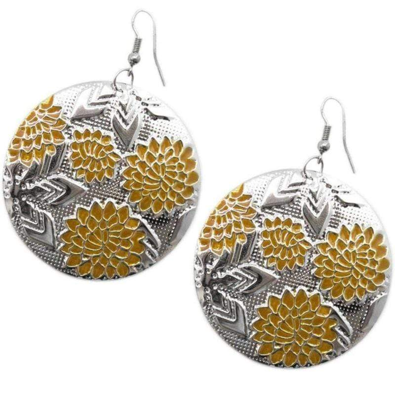 Wicked Wonders VIP Bling Earrings Tis the Season Yellow Earrings Affordable Bling_Bling Fashion Paparazzi