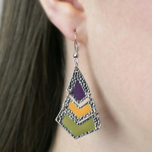 Wicked Wonders VIP Bling Earrings Wild Child Multi-Colored Earrings Affordable Bling_Bling Fashion Paparazzi