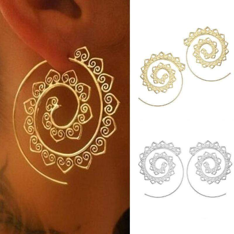 Wicked Wonders VIP Bling Earrings Wild Infinity Gold OR Silver Earrings Affordable Bling_Bling Fashion Paparazzi
