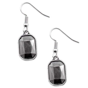 Wicked Wonders VIP Bling Earrings Your Royal Shine-ness Silver Earrings Affordable Bling_Bling Fashion Paparazzi