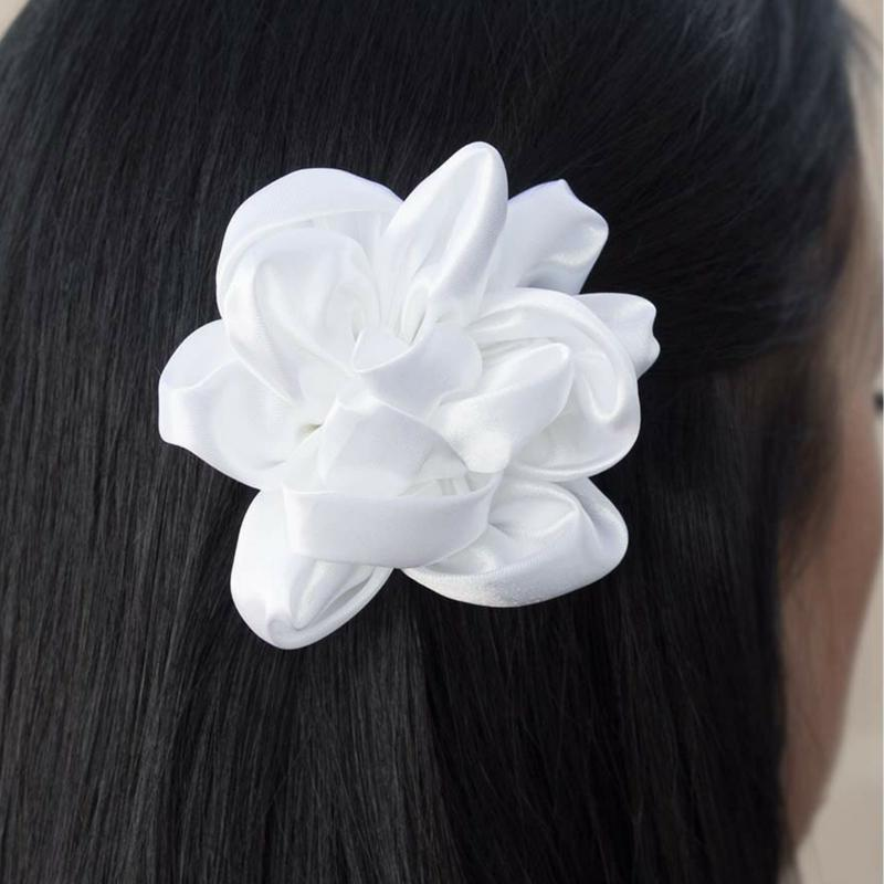 Wicked Wonders VIP Bling Hair Clip A Real Classic White Hair Clip Affordable Bling_Bling Fashion Paparazzi