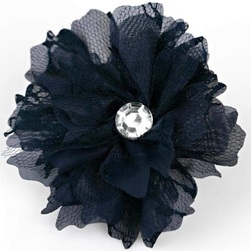 Wicked Wonders VIP Bling Hair Clip Best Lace Forward Blue Hair Clip and Brooch Affordable Bling_Bling Fashion Paparazzi