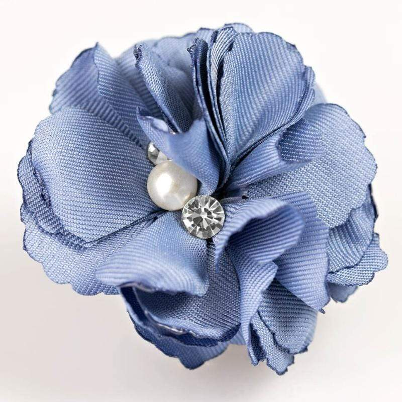 Wicked Wonders VIP Bling Hair Clip Compare and Contrast Blue Hair Clip Affordable Bling_Bling Fashion Paparazzi