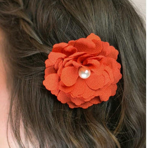 Wicked Wonders VIP Bling Hair Clip He Loves Me Orange Hair Clip Affordable Bling_Bling Fashion Paparazzi