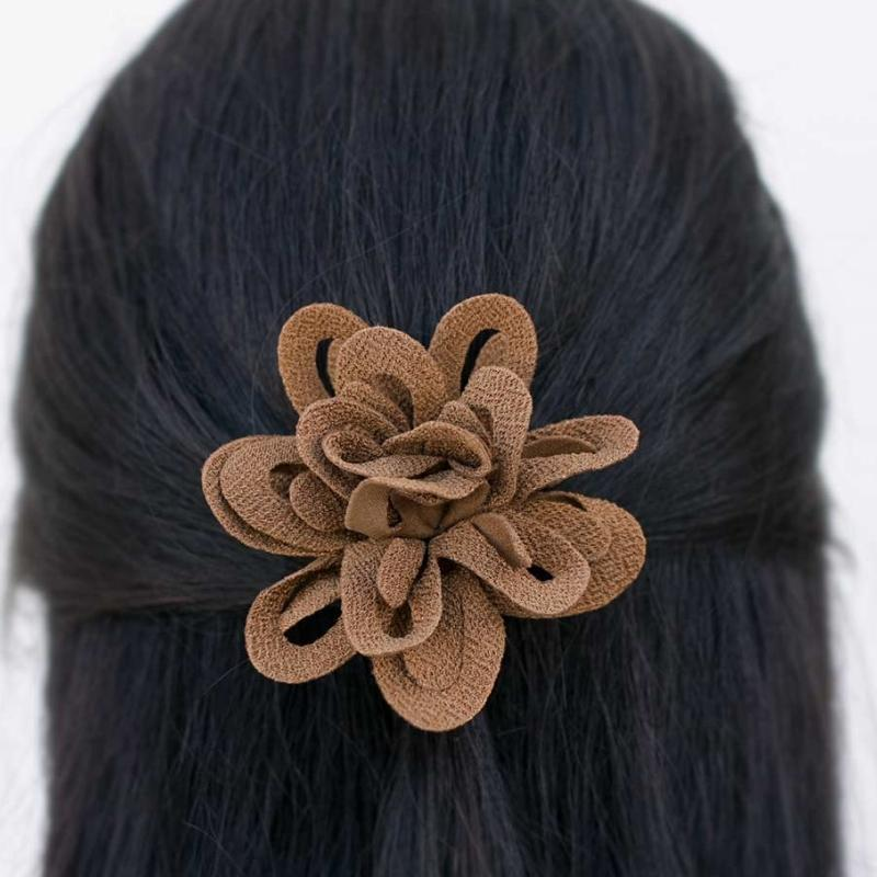 Wicked Wonders VIP Bling Hair Clip Hold Me Closer Brown Hair Clip Affordable Bling_Bling Fashion Paparazzi