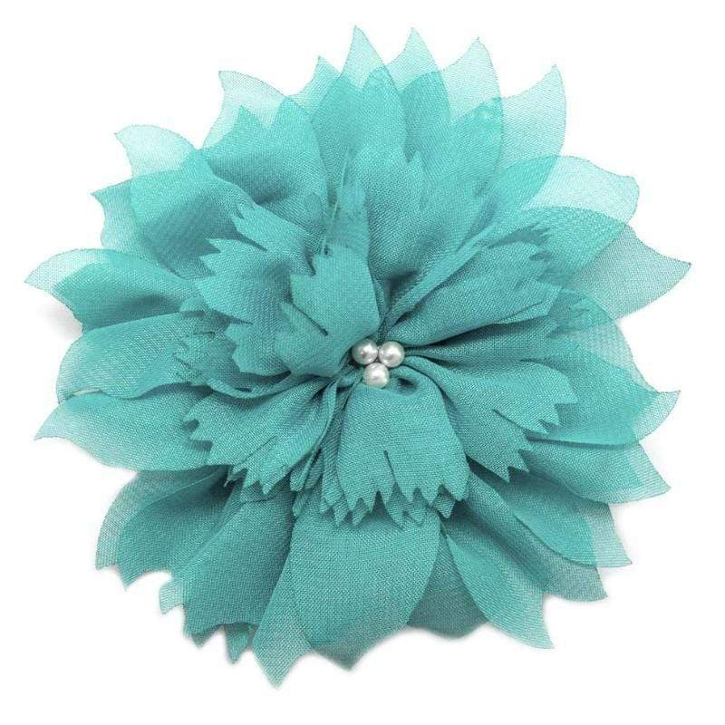 Wicked Wonders VIP Bling Hair Clip Jane Doe Teal Blue Hair Clip and Brooch Pin Affordable Bling_Bling Fashion Paparazzi