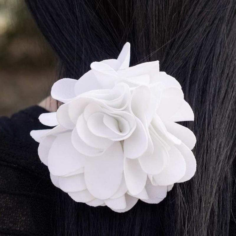 Wicked Wonders VIP Bling Hair Clip Let Me Call You Sweetheart White Hair Clip Affordable Bling_Bling Fashion Paparazzi