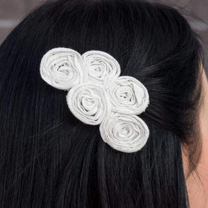 Wicked Wonders VIP Bling Hair Clip Money Talks White Hair Clip Affordable Bling_Bling Fashion Paparazzi