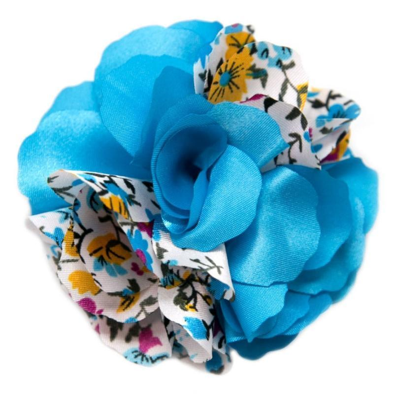 Wicked Wonders VIP Bling Hair Clip Road to Bali Blue Hair Clip Affordable Bling_Bling Fashion Paparazzi