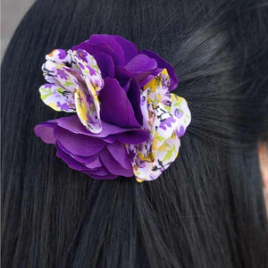 Wicked Wonders VIP Bling Hair Clip Road to Bali Purple Hair Clip Affordable Bling_Bling Fashion Paparazzi