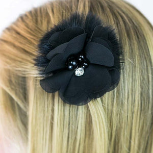 Wicked Wonders VIP Bling Hair Clip The Prom Queen Black Hair Clip Affordable Bling_Bling Fashion Paparazzi