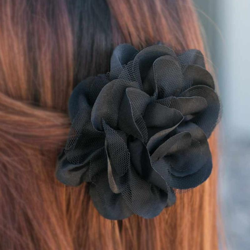 Wicked Wonders VIP Bling Hair Clip Time to Bid Adieu Black Hair Clip Affordable Bling_Bling Fashion Paparazzi